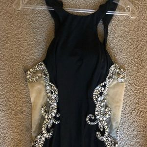 BLUSH long dress